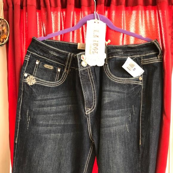 L.A. idol Denim - L.A. Idol jeans USA size 17 x33L NWT